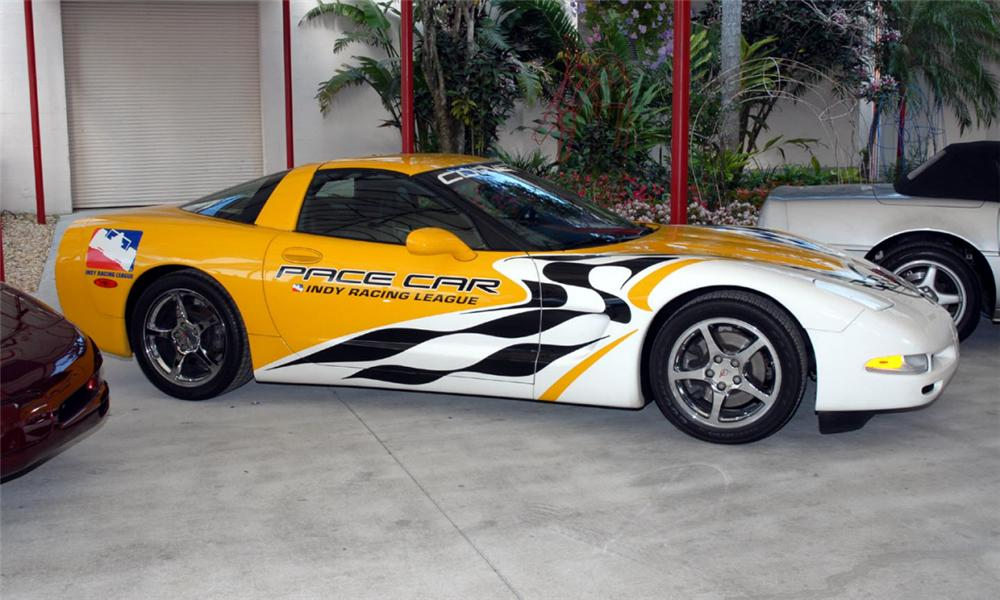 2000 CHEVROLET CORVETTE ROLEX 24HR PACE CAR - Side Profile - 39774