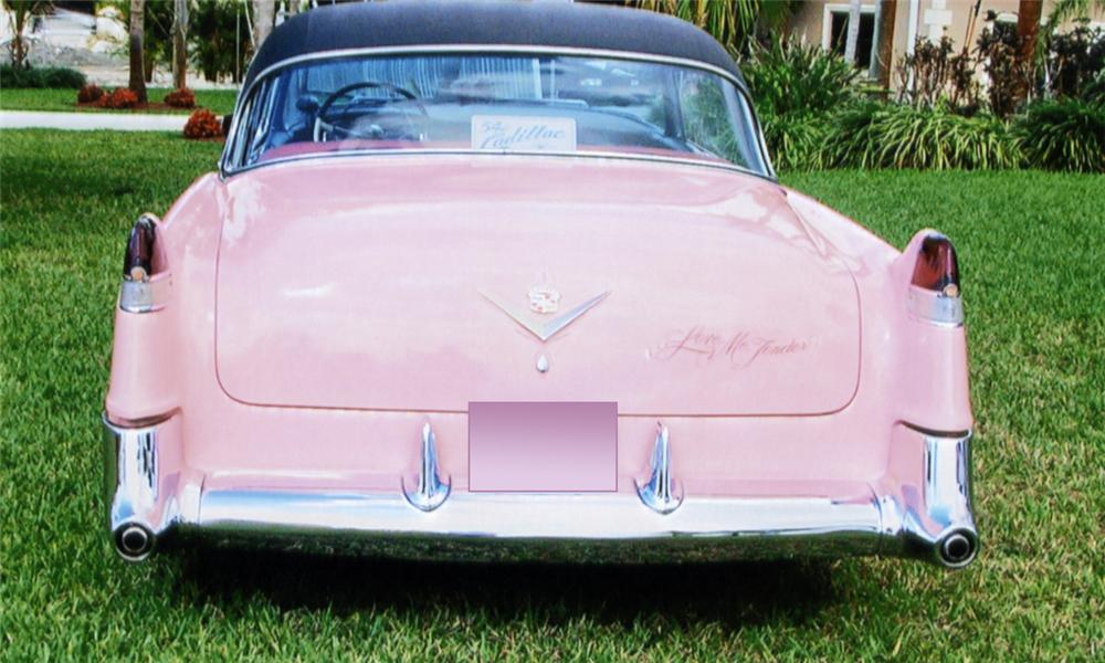 1954 CADILLAC SERIES 62 2 DOOR COUPE DEVILLE - Rear 3/4 - 39776