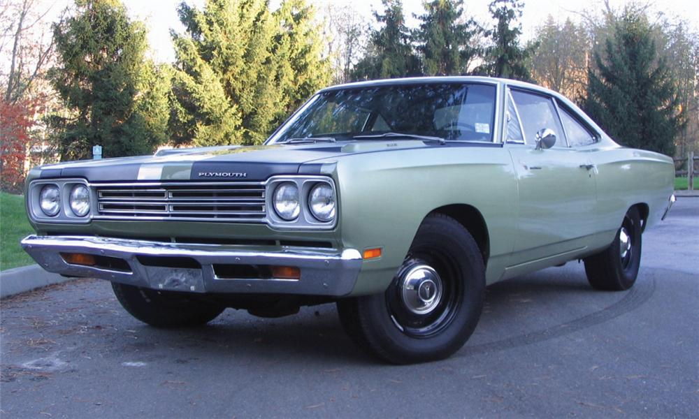 1969 PLYMOUTH ROAD RUNNER COUPE RE-CREATION - Front 3/4 - 39782
