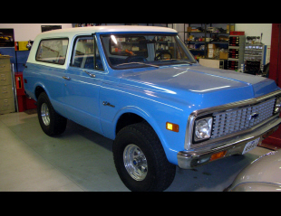 1972 CHEVROLET BLAZER UNKNOWN -  - 39783