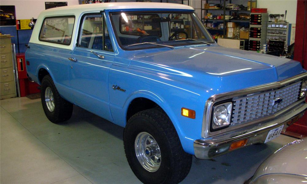 1972 CHEVROLET BLAZER UNKNOWN - Front 3/4 - 39783