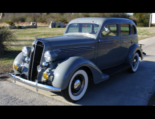 1936 PLYMOUTH 4 DOOR SEDAN -  - 39784