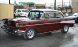 1957 CHEVROLET BEL AIR CUSTOM 2 DOOR POST -  - 39785