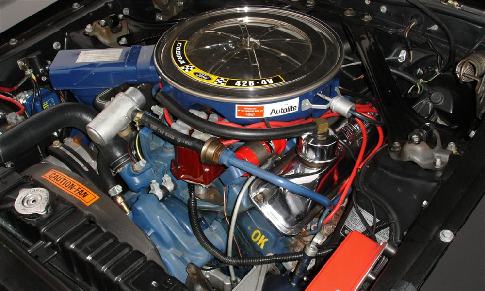 1969 FORD MUSTANG MACH 1 FASTBACK - Engine - 39792