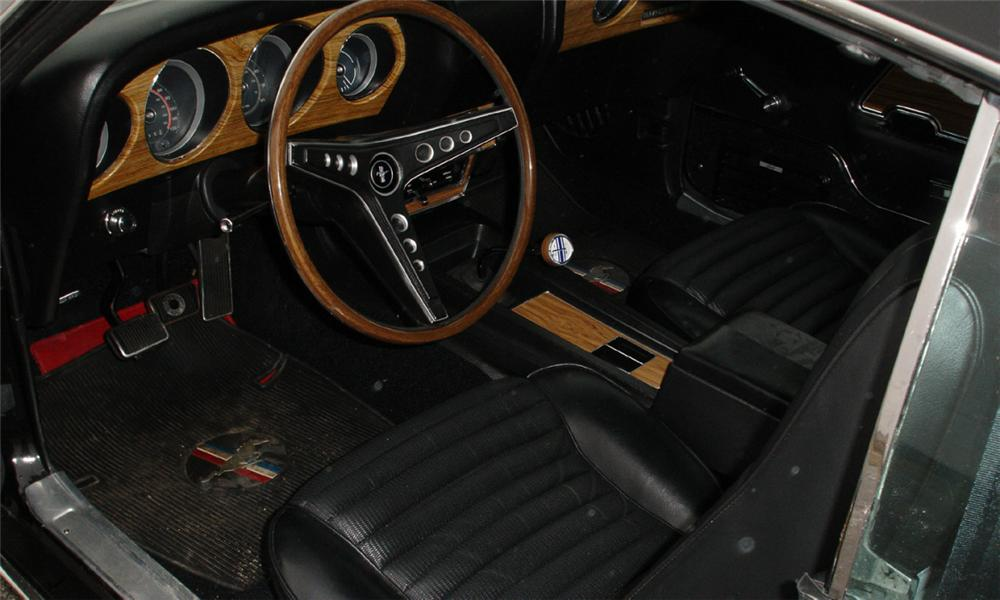 1969 FORD MUSTANG MACH 1 FASTBACK - Interior - 39792
