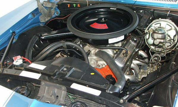 1969 CHEVROLET CAMARO Z/28 COUPE - Engine - 39801
