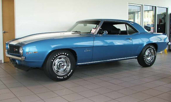 1969 CHEVROLET CAMARO Z/28 COUPE - Front 3/4 - 39801