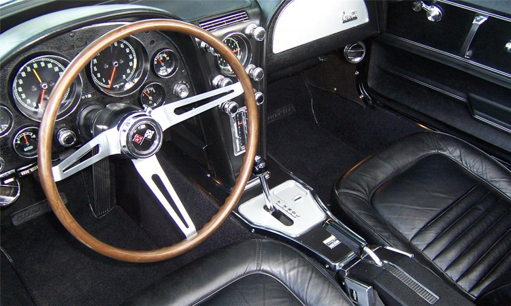 1967 CHEVROLET CORVETTE 427/400 CONVERTIBLE - Interior - 39805
