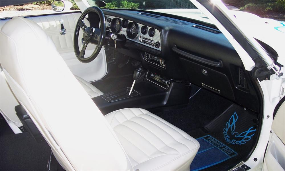 1973 PONTIAC TRANS AM COUPE - Interior - 39810