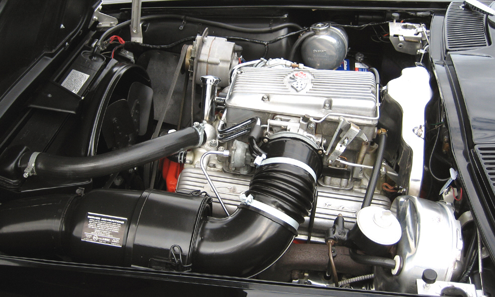 1963 CHEVROLET CORVETTE FI CONVERTIBLE - Engine - 39814