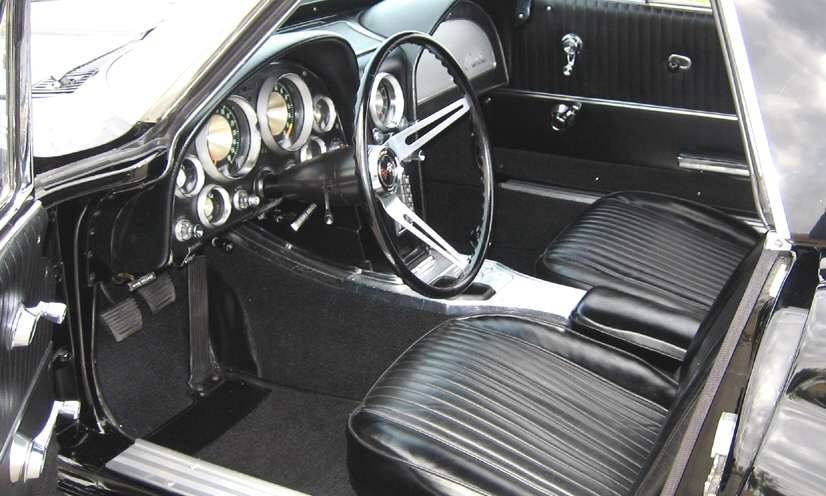 1963 CHEVROLET CORVETTE FI CONVERTIBLE - Interior - 39814
