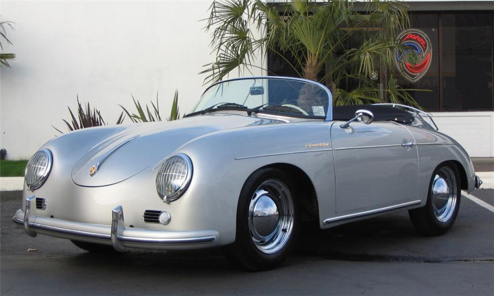 1957 PORSCHE SPEEDSTER RE-CREATION - Front 3/4 - 39815