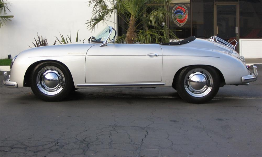 1957 PORSCHE SPEEDSTER RE-CREATION - Side Profile - 39815