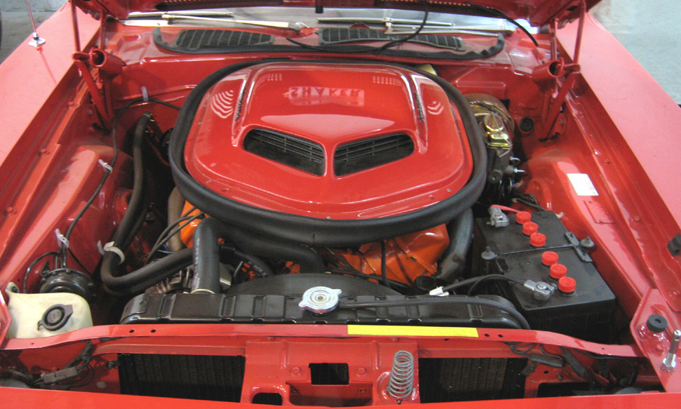 1970 PLYMOUTH CUDA COUPE - Engine - 39820