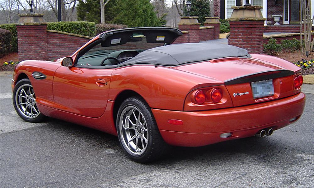 2003 PANOZ ESPERANTE CONVERTIBLE - Rear 3/4 - 39821