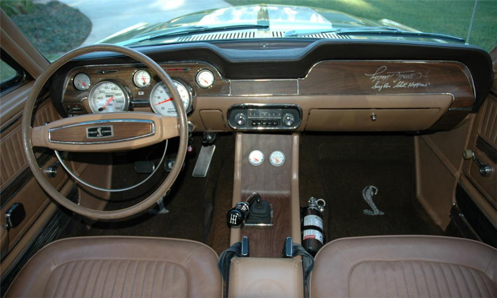 1968 SHELBY GT500 FASTBACK - Interior - 39822