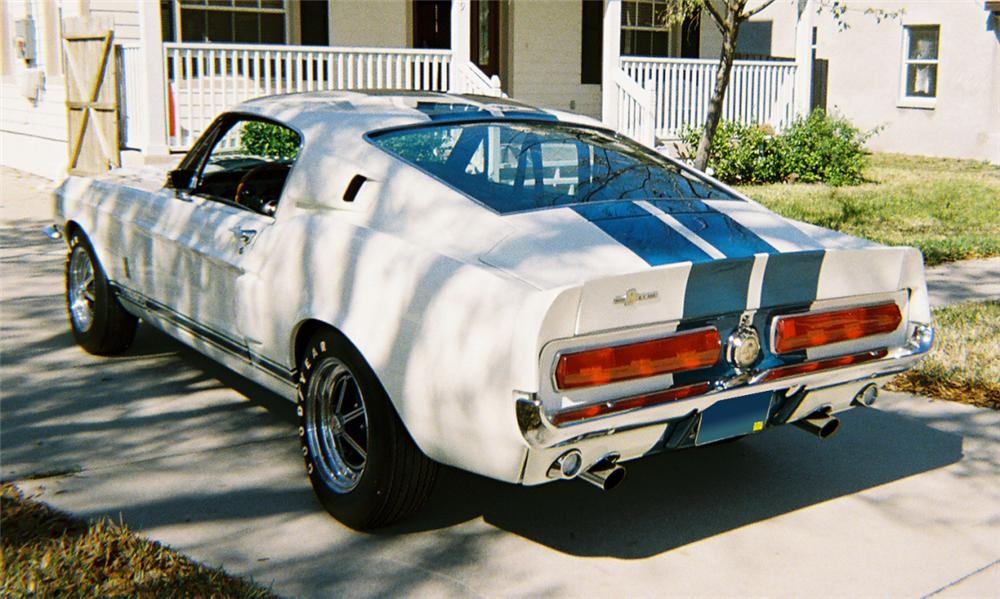 1967 SHELBY GT500 FASTBACK - Rear 3/4 - 39825