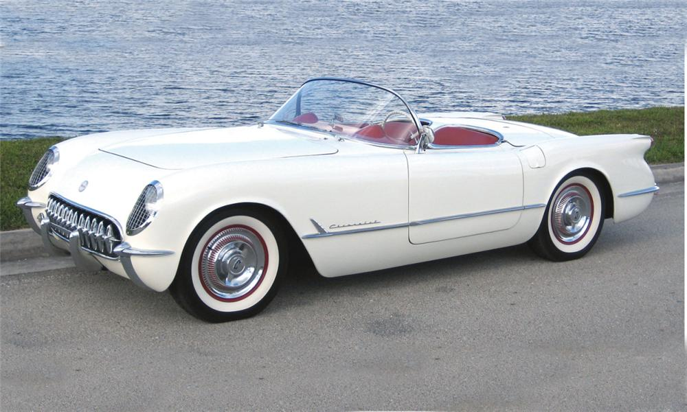 1954 CHEVROLET CORVETTE CONVERTIBLE - Front 3/4 - 39832