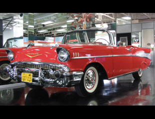 1957 CHEVROLET BEL AIR CONVERTIBLE -  - 39833