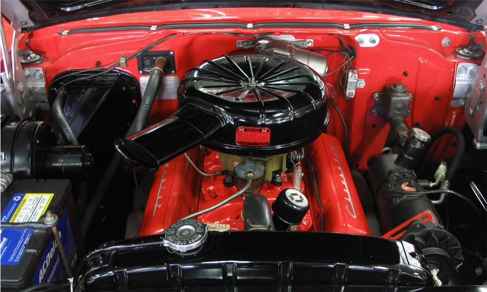 1957 CHEVROLET BEL AIR CONVERTIBLE - Engine - 39833