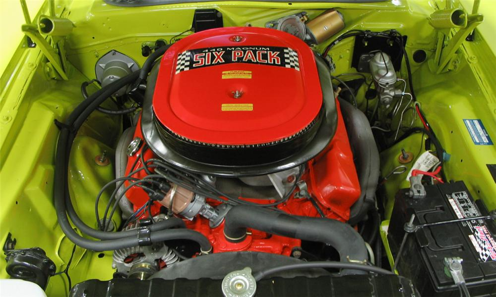 1971 DODGE CHALLENGER R/T COUPE - Engine - 39836