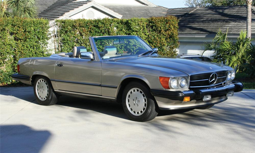 1986 mercedes benz 560sl convertible 39842