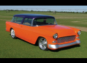 1955 CHEVROLET NOMAD CUSTOM STATION WAGON -  - 39843
