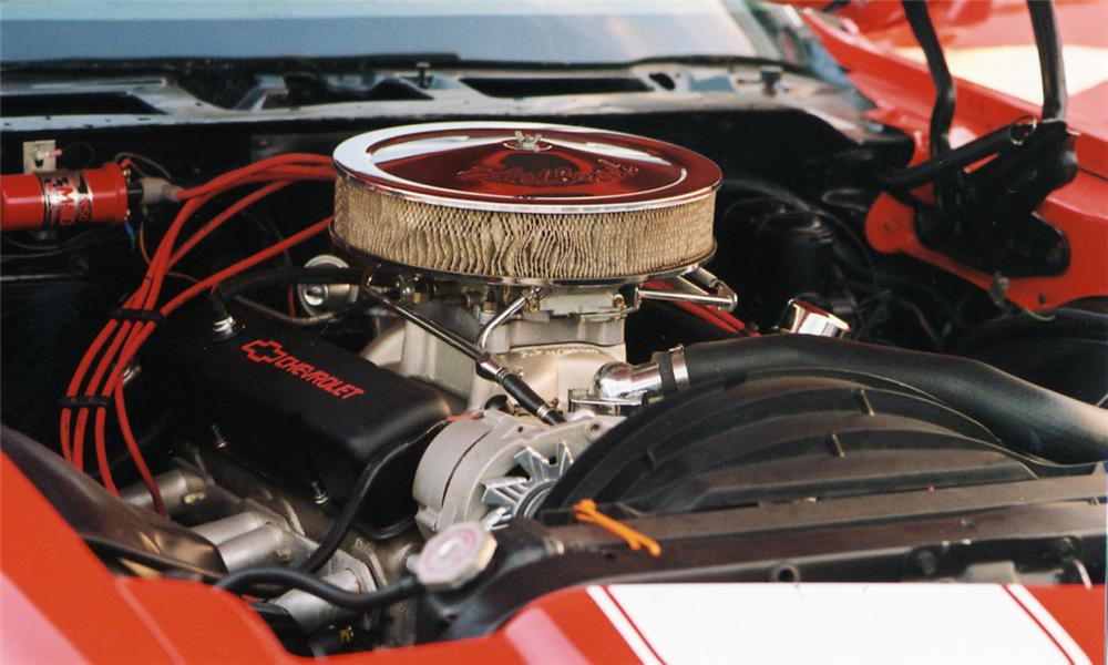 1971 CHEVROLET CAMARO RS CUSTOM COUPE - Engine - 39849