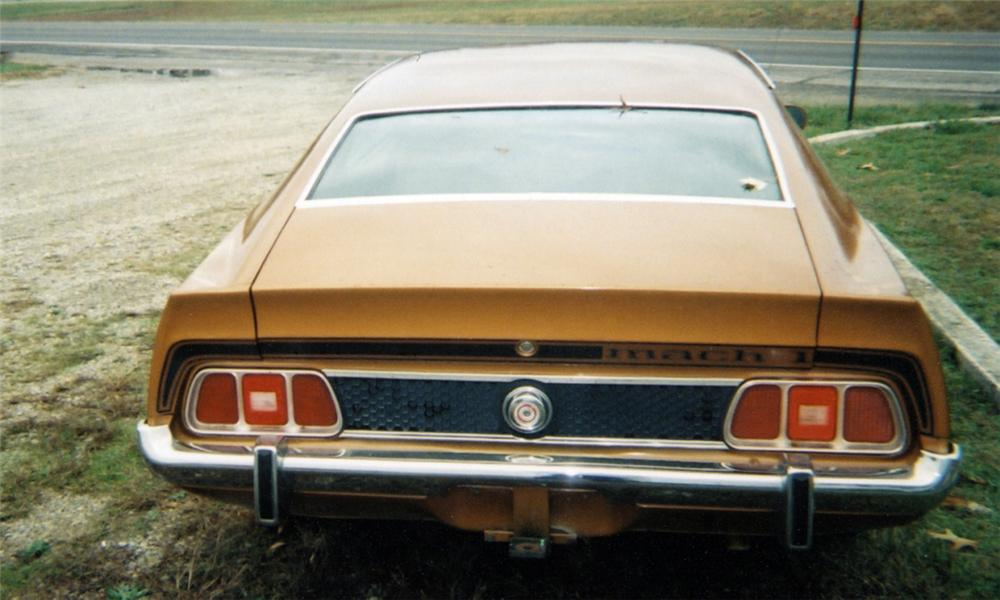1973 FORD MUSTANG MACH 1 FASTBACK - Rear 3/4 - 39853
