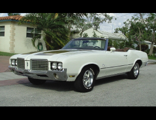 1972 OLDSMOBILE CUTLASS SUPREME CONVERTIBLE -  - 39854