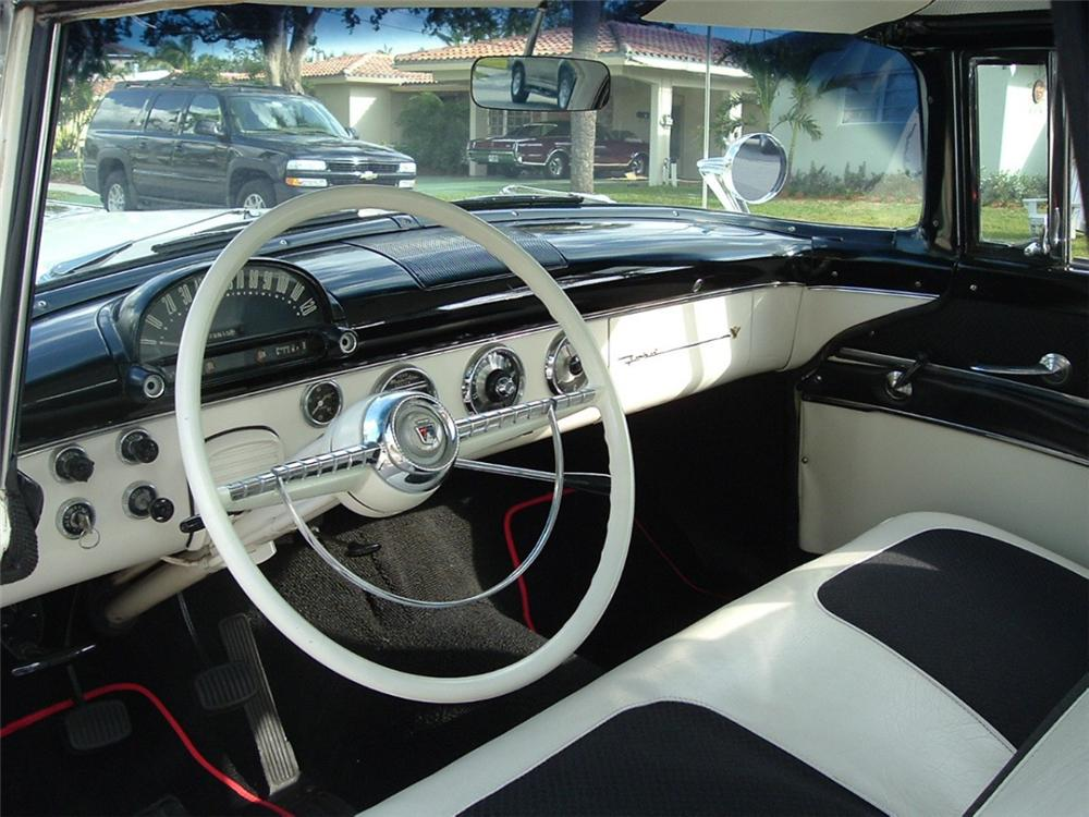 1955 FORD CROWN VICTORIA 2 DOOR HARDTOP - Interior - 39856