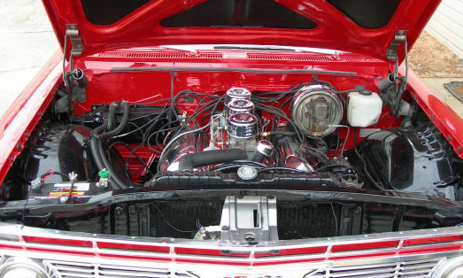 1961 CHEVROLET IMPALA SS BUBBLE TOP - Engine - 39859