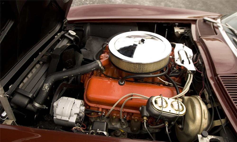 1966 CHEVROLET CORVETTE CONVERTIBLE - Engine - 39863