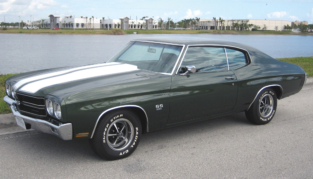 1970 CHEVROLET CHEVELLE SS 396 COUPE - Front 3/4 - 39864