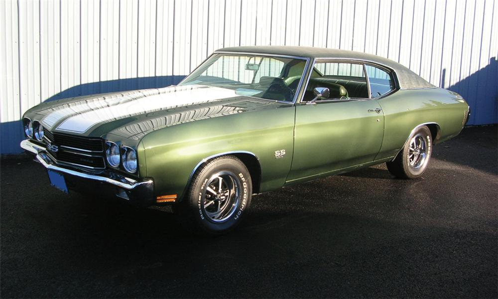1970 CHEVROLET CHEVELLE SS 396 COUPE - Front 3/4 - 39867