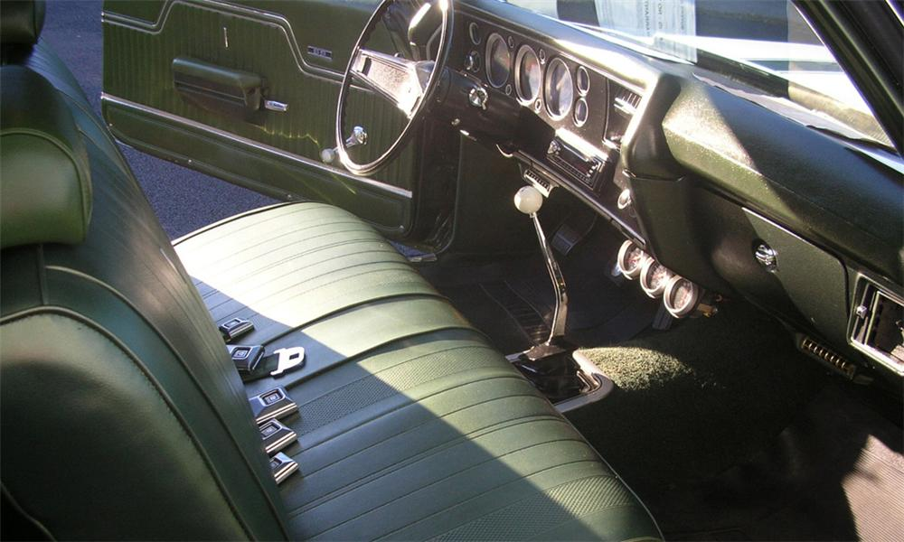 1970 CHEVROLET CHEVELLE SS 396 COUPE - Interior - 39867