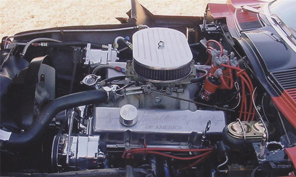 1966 CHEVROLET CORVETTE 327/350 CONVERTIBLE - Engine - 39870