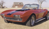 1966 CHEVROLET CORVETTE 327/350 CONVERTIBLE -  - 39870
