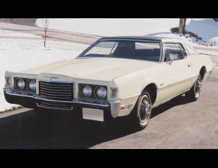 1972 FORD THUNDERBIRD LANDAU COUPE -  - 39872