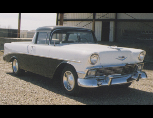 1956 CHEVROLET EL CAMINO CUSTOM PICKUP -  - 39876
