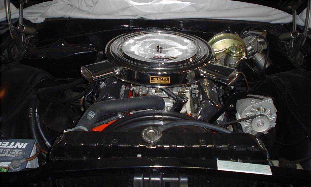 1963 CHEVROLET IMPALA SS 2 DOOR HARDTOP - Engine - 39877
