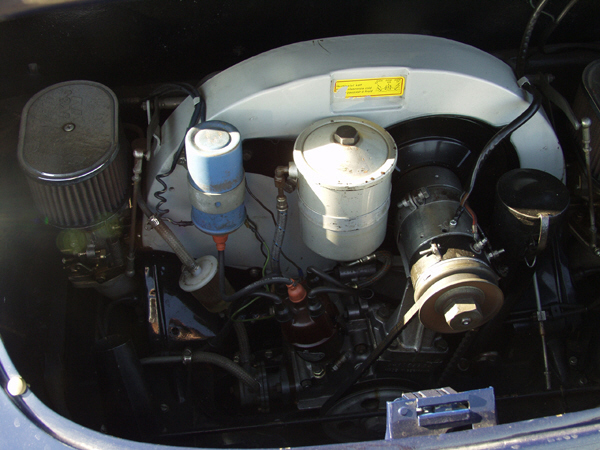 1962 PORSCHE SUPER 90 356B COUPE - Engine - 39884