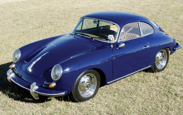 1962 PORSCHE SUPER 90 356B COUPE - Front 3/4 - 39884