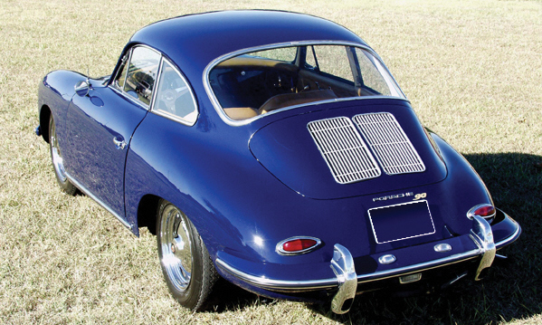 1962 PORSCHE SUPER 90 356B COUPE - Rear 3/4 - 39884