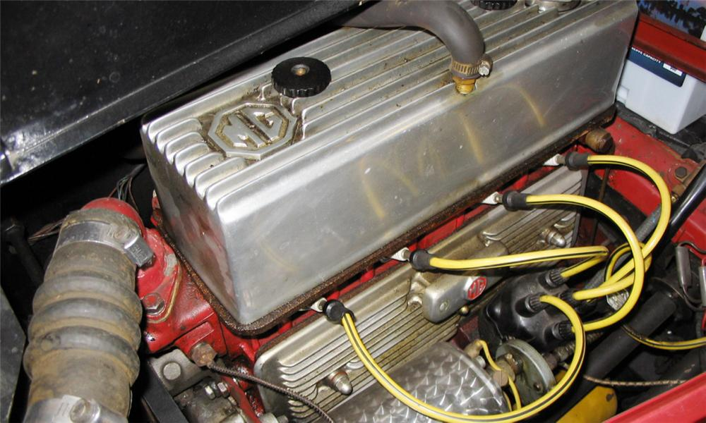 1954 MG TF ROADSTER - Engine - 39885