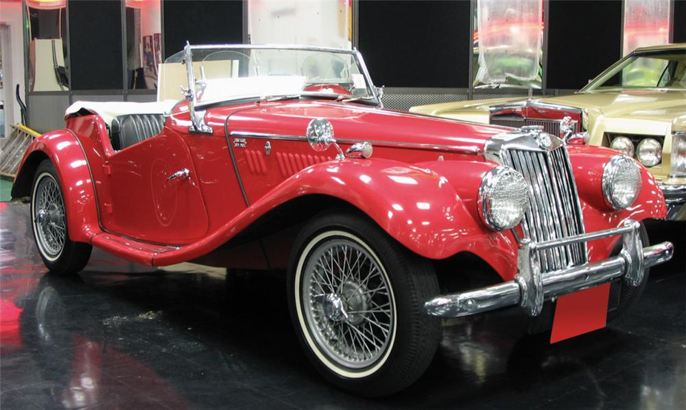 1954 MG TF ROADSTER - Front 3/4 - 39885