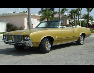 1972 OLDSMOBILE CUTLASS SUPREME CONVERTIBLE -  - 39886