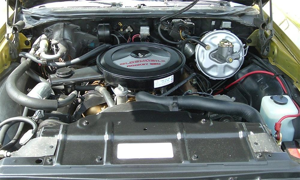1972 OLDSMOBILE CUTLASS SUPREME CONVERTIBLE - Engine - 39886