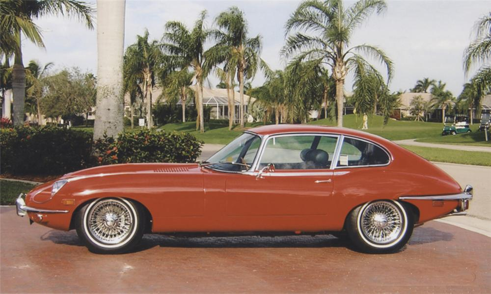 1969 JAGUAR E-TYPE SERIES 2, 2+2 - Side Profile - 39890