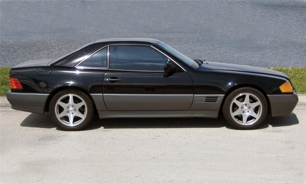 1992 MERCEDES-BENZ 500SL CONVERTIBLE - Side Profile - 39899